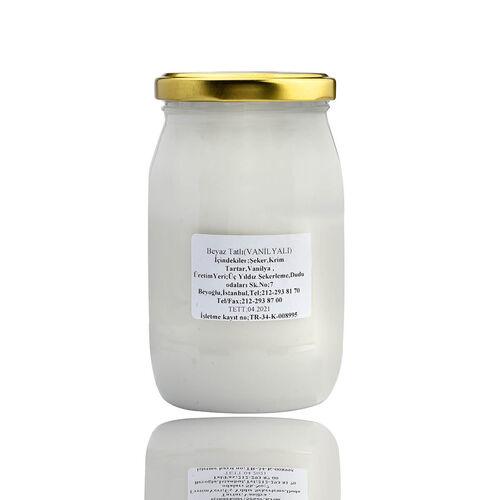 Vanilyalı Beyaz Tatlı 500 gr.